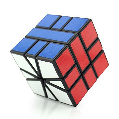 HJXDtech - Shengshou colección Cubo mágico Irregular Speedcubing Cubo Especial de la torcedura del Rompecabezas (Square-1)
