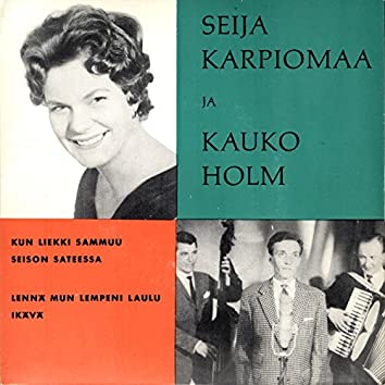 Seija Karpiomaa ja Kauko Holm