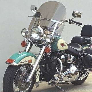 10 DK-1 Dark Gray Tint Windshield to Fit Harley Davidson 1996 to 2013