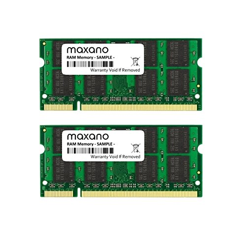 4 GB Dual Channel Kit (2x 2 GB) voor Dell Vostro 1500 DDR2 800 MHz (PC2-6400S) SO Dimm werkgeheugen RAM Memory