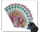 Yanteng Alfombrilla de Goma Antideslizante para Juegos, Alfombrillas de ratón aisladas para Billetes