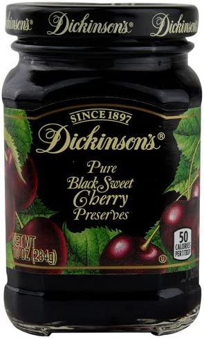 Dickinson's Preserves Black Our shop OFFers the best service In a popularity Sweet Cherry oz 10 -