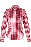 Almsach Damen Trachten-Bluse rot-weiß kariert 'Maria', rot, 40