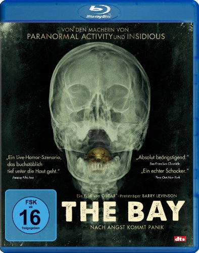 The Bay - Nach Angst kommt Panik [Blu-ray]