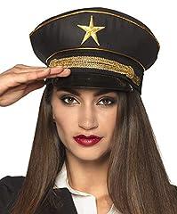 Boland General 04292 Hat Black/Gold #1