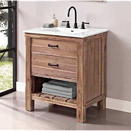 Fairmont Designs 1507 Vh30 Napa 30 Open Shelf Vanity Sonoma Sand Amazon Com