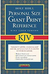 KJV Personal Size Giant Print Reference Bible Imitation Leather