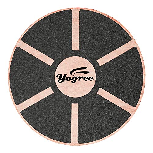 yogree 15.4' Wooden Balance Board for Workout,...