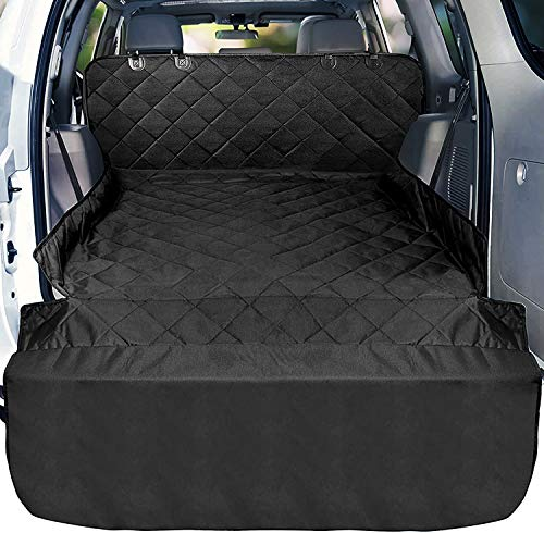 look envy Pet Dog Trunk Cargo Liner,600D Oxford Car SUV Seat Cover,Floor Mat for Dogs,Waterproof and...