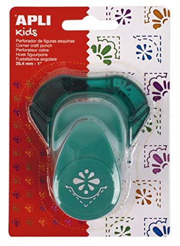 APLI Kids 13637-Perforadora papel esquina flor 25,4 mm