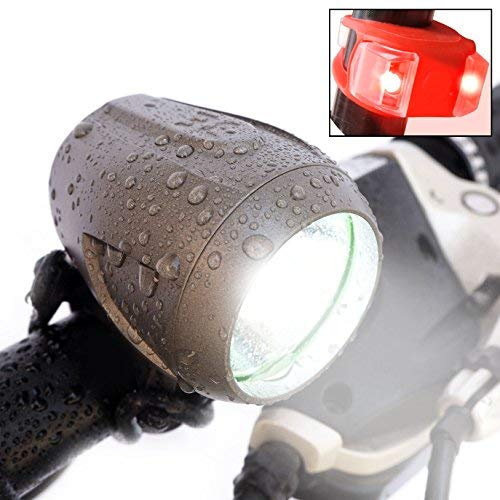 Bright Eyes Newly Upgraded and Fully Waterproof 1200 Lumen Rechargeable Mountain, Road Bike...