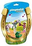 PLAYMOBIL Granja de Ponis- Granja de Ponis Playset de Figuras de Juguete, Multicolor, 6 x 15,5 x 23,...