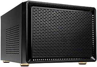 Kolink Satellite Mini Caja ITX/Micro ATX - Refrigeradores de CPU de hasta 165 mm de Altura - GPU de hasta 280 mm - Panel de E/S - Negro