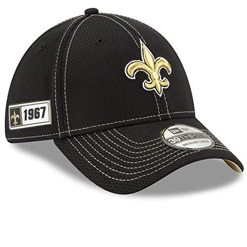 New Era New Orleans Saints Sideline Road 39thirty Casquette pour Homme M Noir
