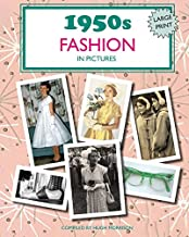1950s Fashion in Pictures: Large print book for dementia patients