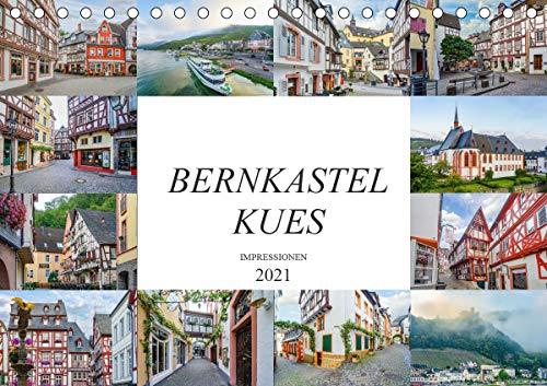 Bernkastel Kues Impressionen (Tischkalender 2021 DIN A5 quer)