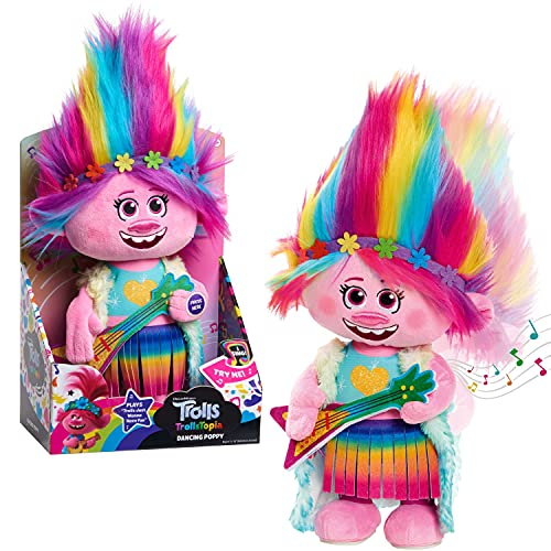 Trolls World Tour Dancing Poppy Feature Plush