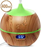ArtNaturals Essential Oil Diffuser and Humidifier with Bluetooth...