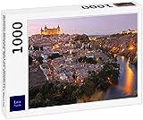 Lais Puzzle Hermosa Vista panorámica de Toledo al Atardecer. España, Castilla-La Mancha 1000 Piezas
