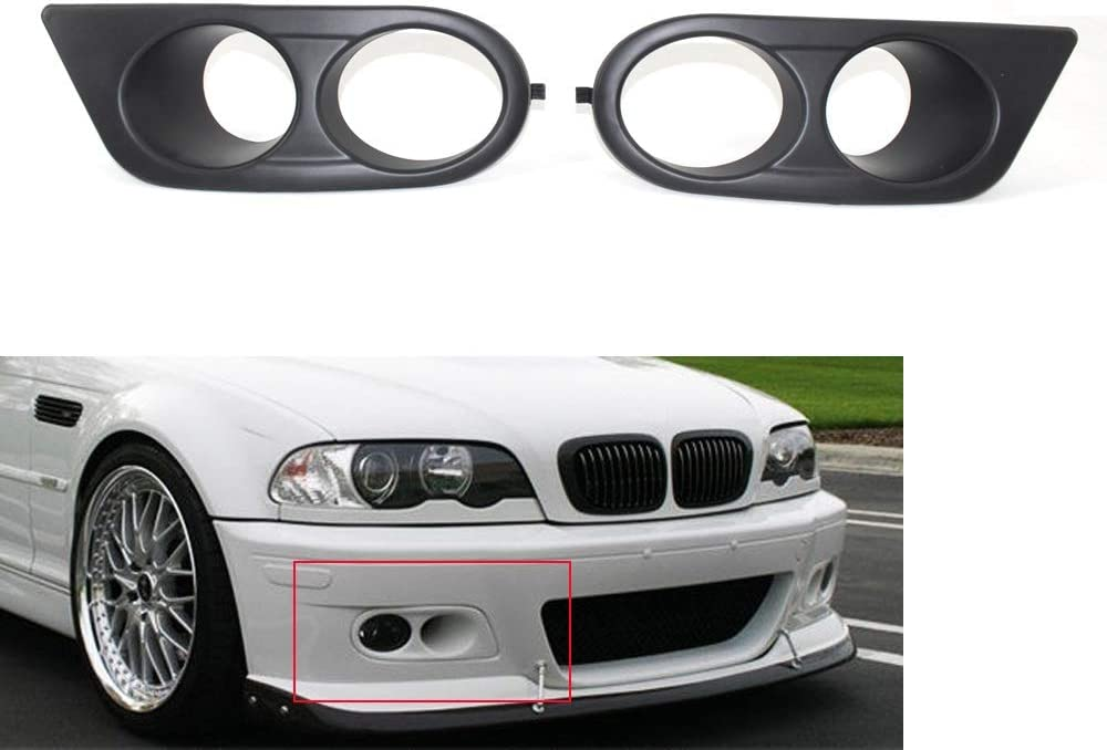 Fog Light Bombing new work Grille Miami Mall Covers Black Fit Car Cover for