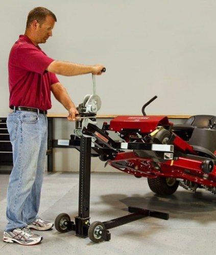 MoJack MJPRO 750-Lbs Heavy-Duty Riding Lawn Mower Lift