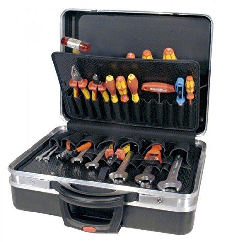 PROMAT 871747 Schalenkoffer ABS mobil 470x360x180mm m.Inneneinricht. PROMAT schwarz