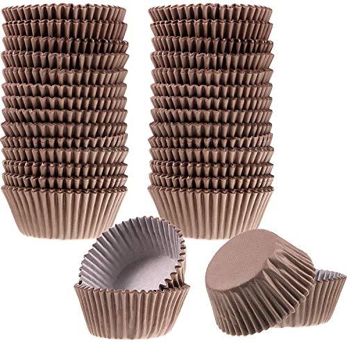 Capacillo mini #3 café chocolates trufas cupcake liner Papel Horno 24mm base, 16mm, pared 39mm diámetro superior 400pz