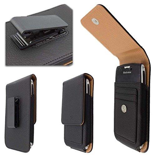 caseroxx Handy Tasche Outdoor Tasche für Archos Saphir 50X, mit drehbarem Gürtelclip in schwarz