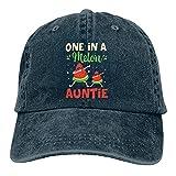 One in A Melon Auntie - Gorra de béisbol unisex con diseño de sandía, color azul marino