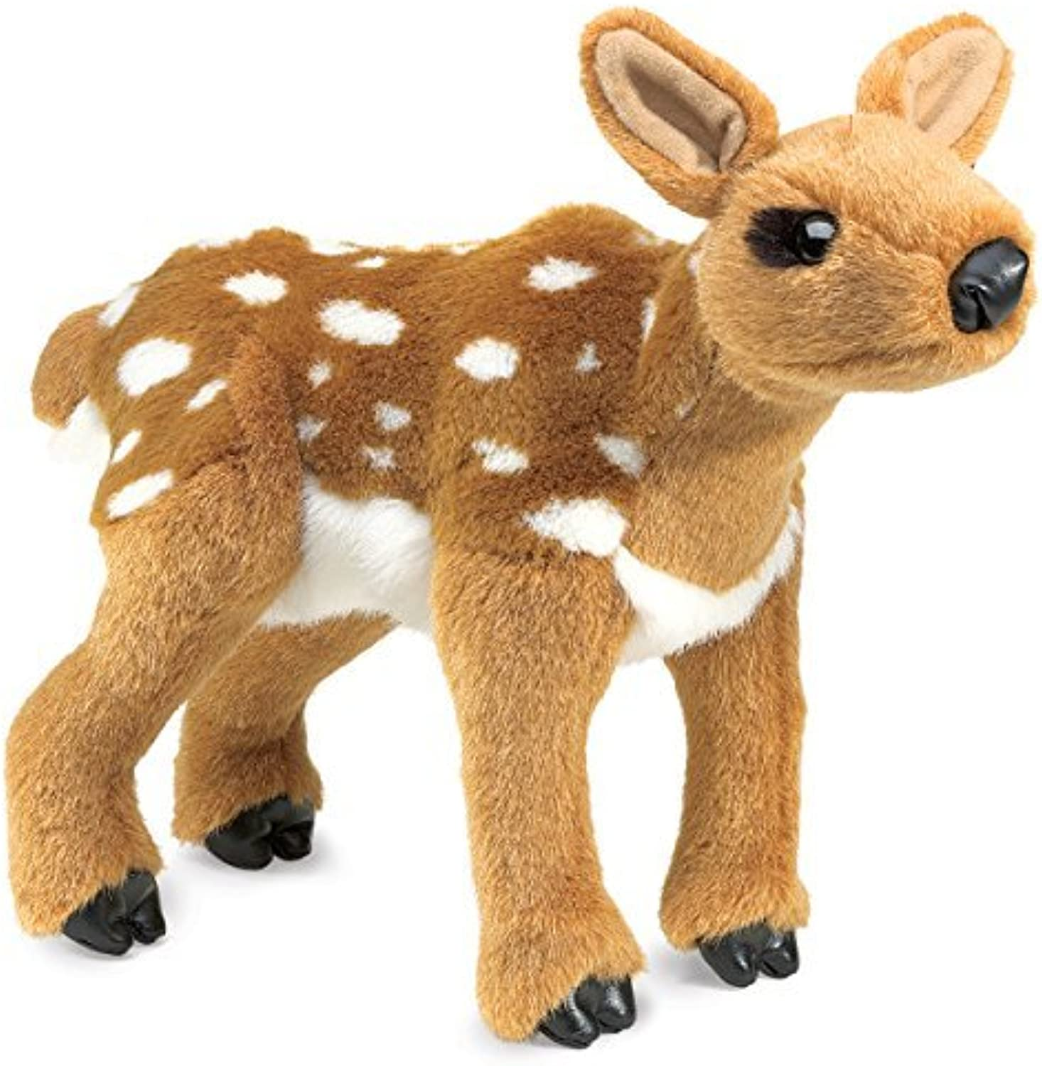 Plush Fawn Hand Puppet 13 by Folkmanis