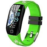 Smartwatch, Relojes Inteligentes Mujer Hombre Niños Impermeable IP68 Pulsera Actividad Inteligente...