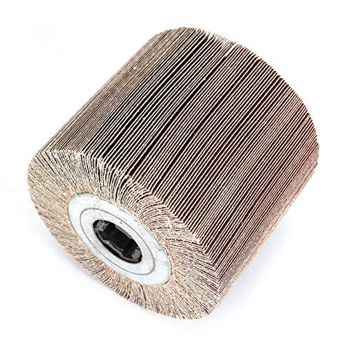 SZQLF Herramienta rotativa Ruedas de Lijado Papel de Lija de Ruedas Ruedas abrasivas Discos para pulir,Grit:320#