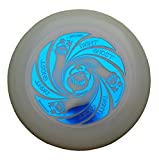 Discraft Ultimate Frisbee Ultra Star Ghost Night Glow di Colore Blu Metallico - Noctilucent