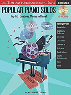 3rd Grade - Pop Hits, Broadway, Movies and More!: Popular Piano Solos