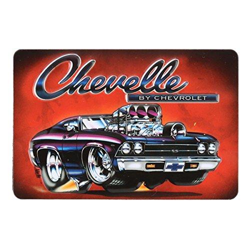 Open Road Brands - Imán de metal para Chevrolet Chevelle – un producto oficial con licencia, gran regalo y adición para añadir lo que te gusta a la decoración de tu hogar/garaje