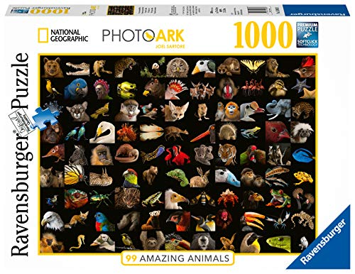 Ravensburger Puzzle 15983 - 99 atemberaubende Tiere - 1000 Teile Puzzle für Erwachsene und Kinder ab 14 Jahren, Puzzle mit Tier-Motiv
