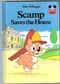 Walt Disney's Scamp Saves the House - Book  of the Disney's Wonderful World of Reading