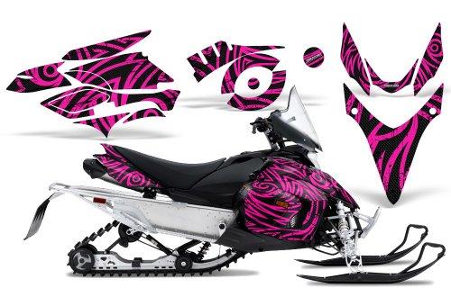 CreatorX Graphics Kit Decals Stickers for Yamaha Phazer Rtx Gt Mtx Snowmobile Sled TribalZ Pink