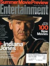 Entertainment Weekly April 25, 2008 Harrison Ford/Indiana Jones and the Kingdom of the Crystal Skull, George Lucas and Ste...