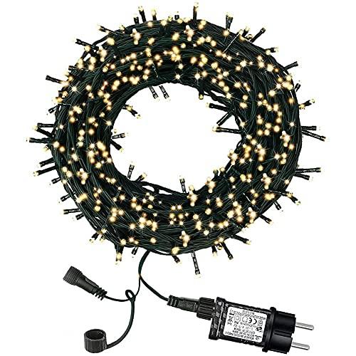 DANSHEN Cadena de luces para exteriores, Halloween, decoración para jardín, árboles, fiestas, pascua, carnaval, Navidad