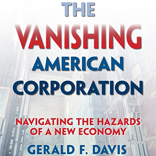 The Vanishing American Corporation audiobook cover art