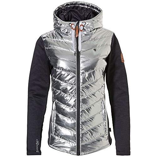 Rehall Roxx-R PWR Combi Jacket Womens Metallic Silver - S