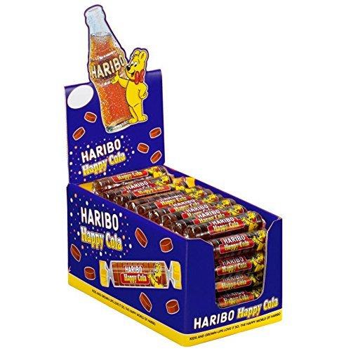 Haribo cola de ruleta 50rollos, 1er Pack (1x 1.25kg)