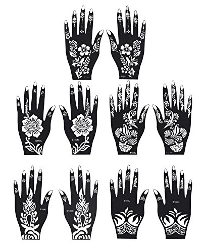 Henna Tattoo Stencil Temporary Tattoo Te Buy Online In United Arab Emirates At Desertcart