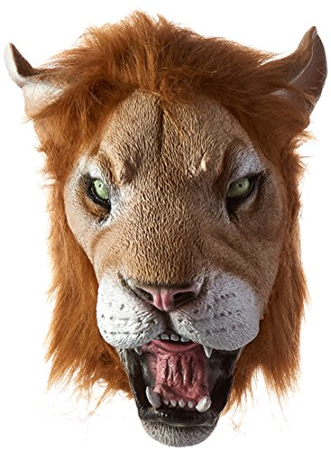 Forum Novelties Adult Deluxe Latex Animal Costume Mask - Lion