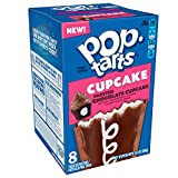 Pop-Tarts Cupcake, Breakfast Toaster Pastries, Frosted Chocolate Cupcake, 13.5oz Box (Pack of 12)