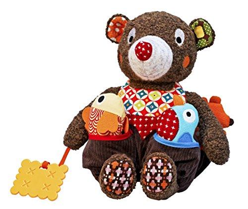 ebulobo Woodours Baby-Aktivitäs-Bär