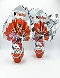 IDEA PASQUA 2021 - 2 Uova Kinder Miraculous Maxi Per Lei 220gr Ciascuna
