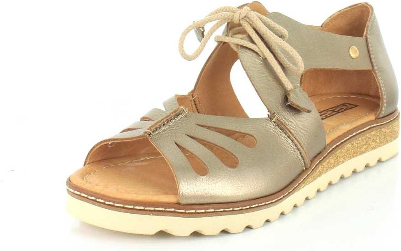 Women's Pikolinos, Alcudia W1L-0917 Sandals METALLIC 3.6 M