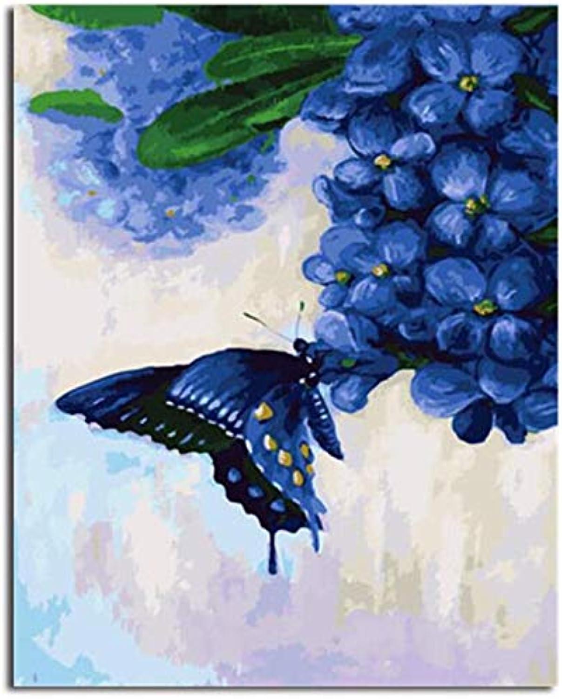 Superlucky Bild Malerei Malerei Malerei & Kalligraphie von Loely Tiere DIY Malen nach Zahlen Malen nach Zahlen Mit Rahmen 40x50cm B07J3H2HMJ | Komfort  73885b